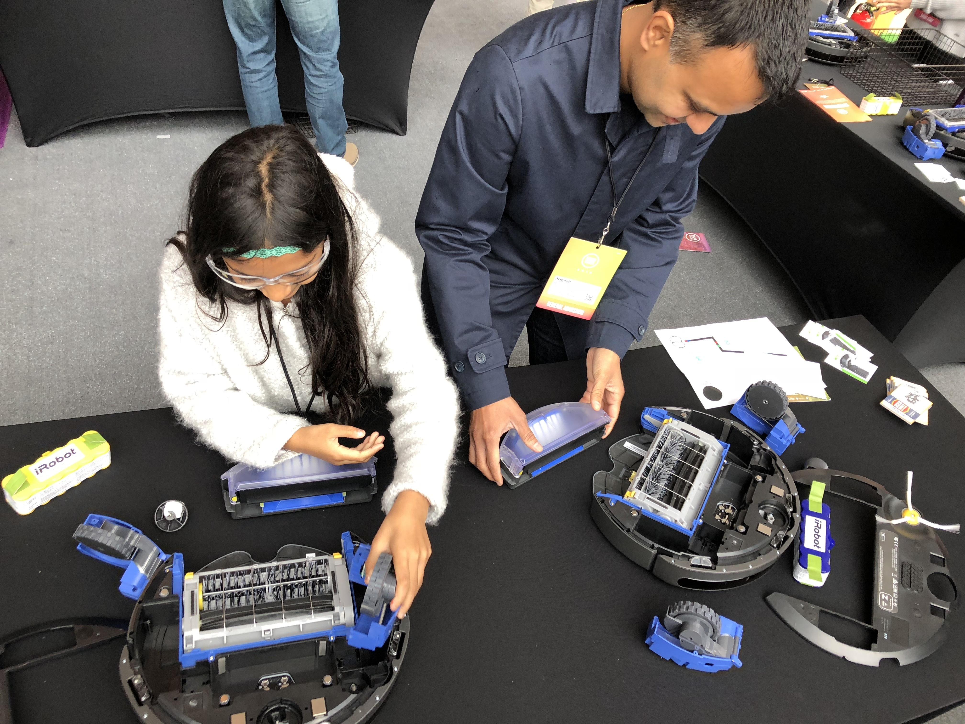 iRobot STEM Visit