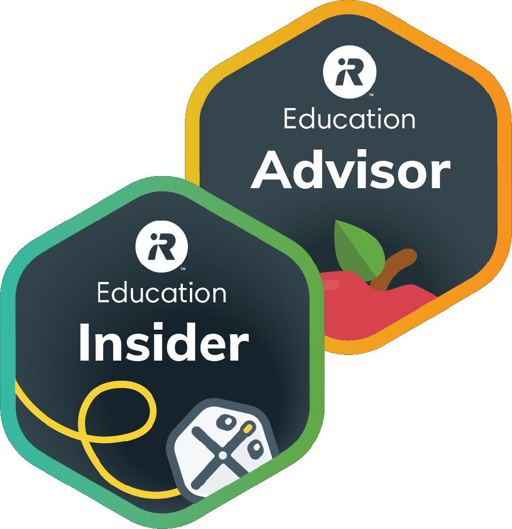 iRobot Education Ambassador badges